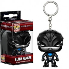 Llavero funko Black Ranger - Power Rangers