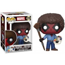 Funko Pop Marvel Deadpool As Bob Ross Original