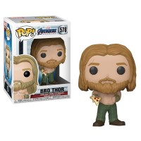 Funko Pop! Marvel: Endgame - Thor con Pizza Original