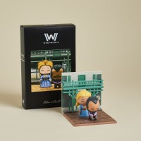 Westworld Super Emo Scenes Diorama Exclusivo Loot Crate