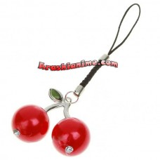 Cherry Cell Phone Strap